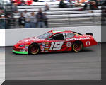 Jeremy Mayfield qualifying in Richmond, May, 2005