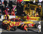 Harvick Pit Stop