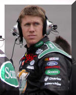 Carl Edwards in Richmond
