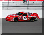Dale Earnhardt Jr. and the Budweiser Chevrolet in Las Vegas